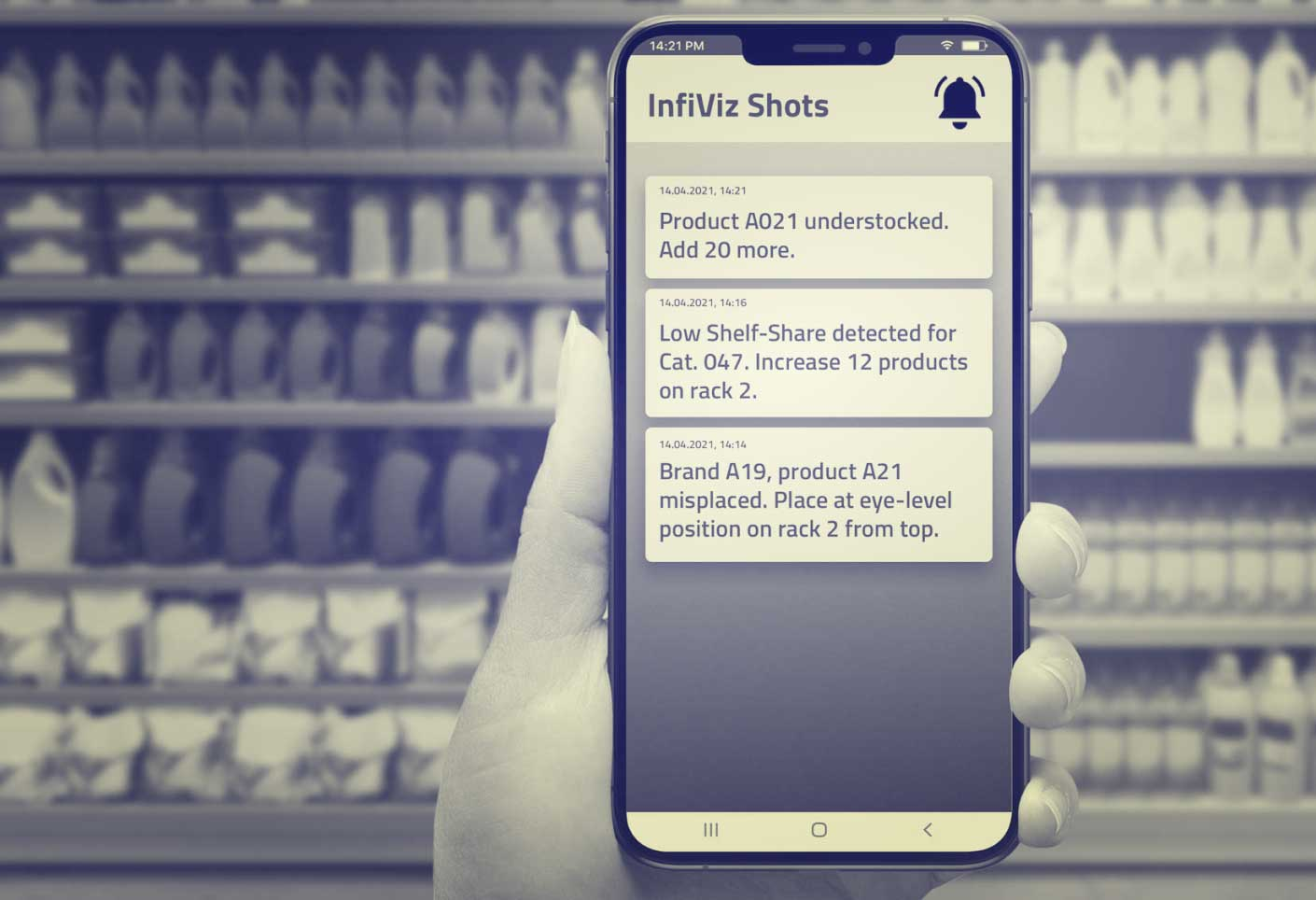 Merchandizer app for retail execution