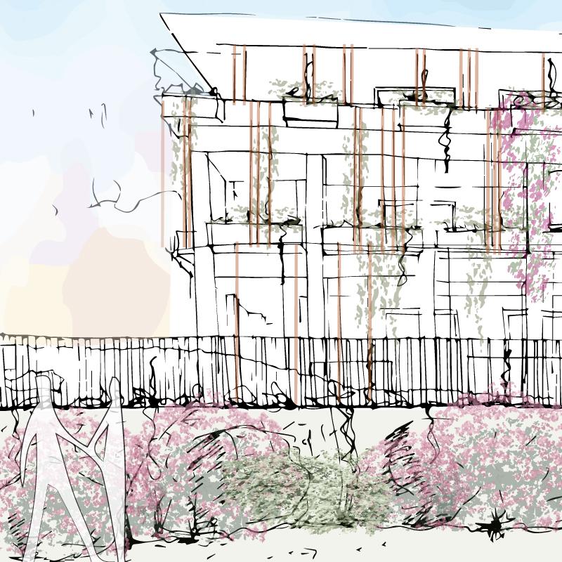 Green Villas Gardone Riviera progetto giardino