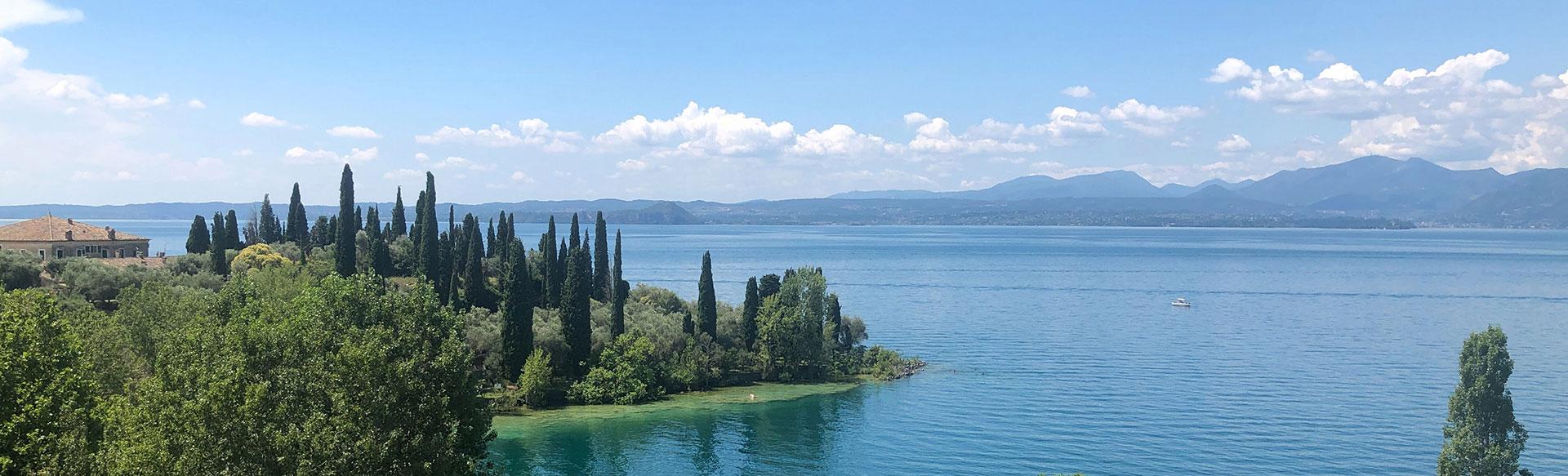 Green Villas Gardone Riviera vista lago
