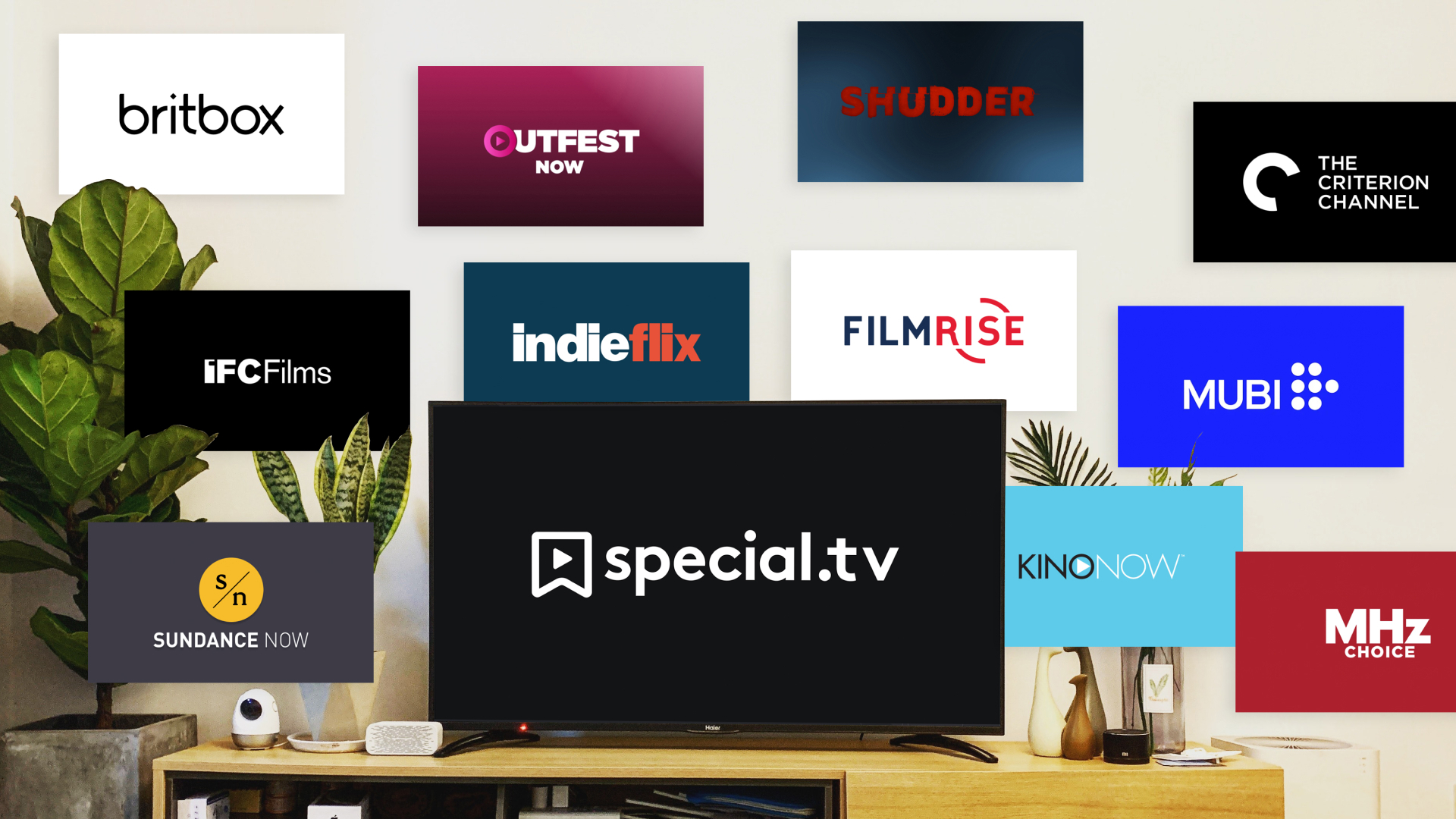 Special tv and other SVOD and OTT services