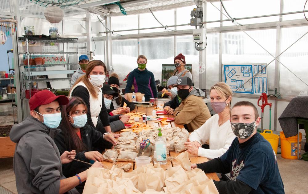 Local Food Alliance Sprout Kit initiaitve volunteers