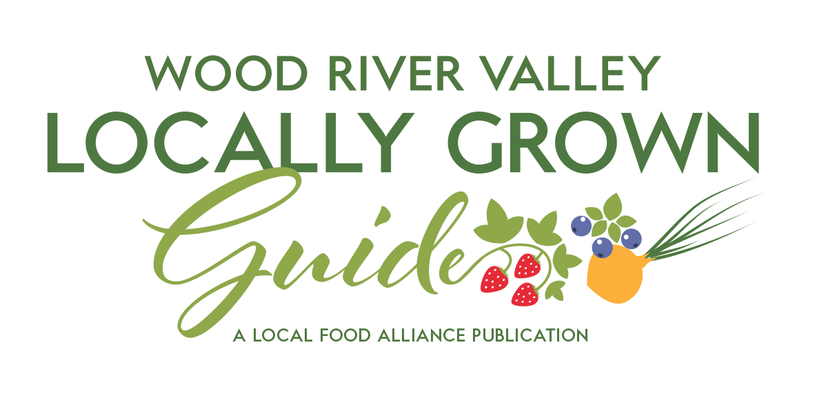 Wood River Valley Locally Grown Guide Logo