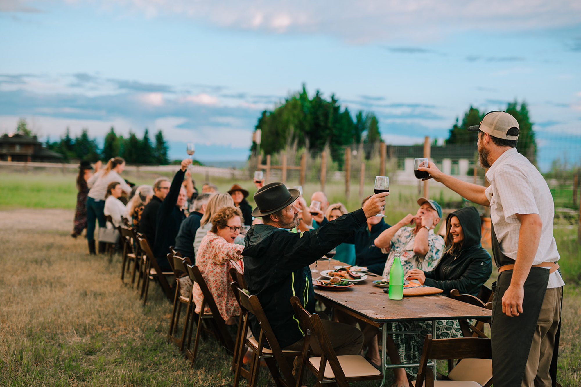 Celebrating local food at an Elevated Table Dinner