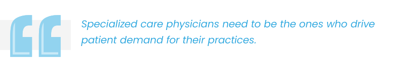 specialized care physicians callout