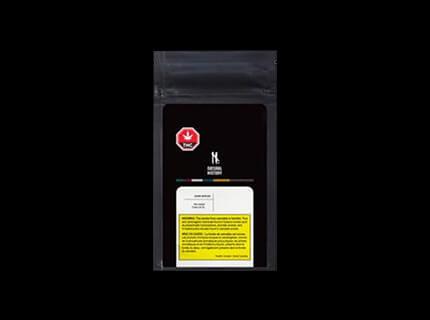Zour Apples dry cannabis flower bag