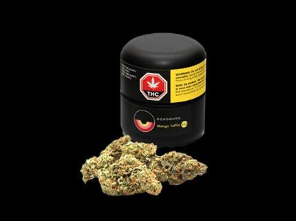 Chronic series Mango Taffie cannabis container