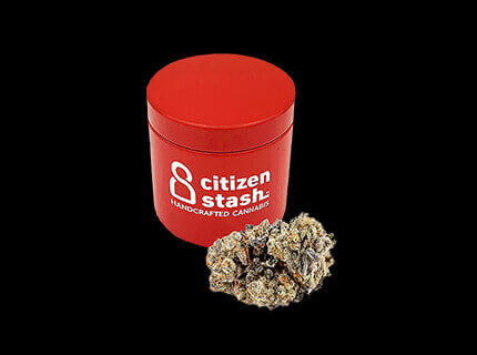 Mimoza red cannabis container