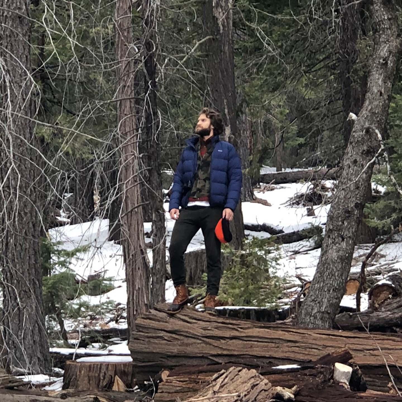 Keegan Allen in Sequoia National Park