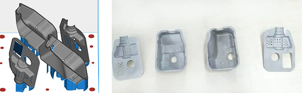 3D printed silencer