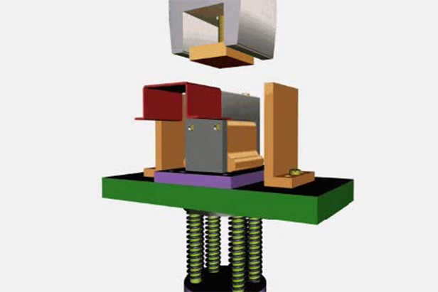 Block workpiece bending