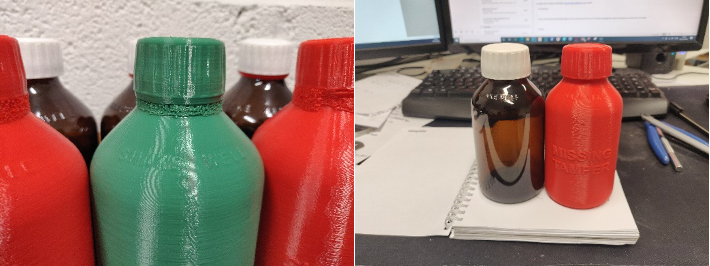 3d Printed Bottles