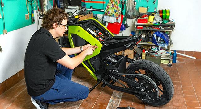 ZORTRAX 3D PRINTING Falectra MotorBike