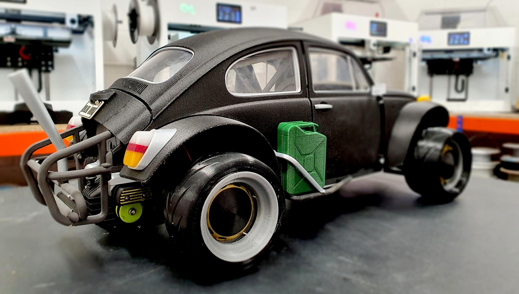 3D Printed Model Buggy