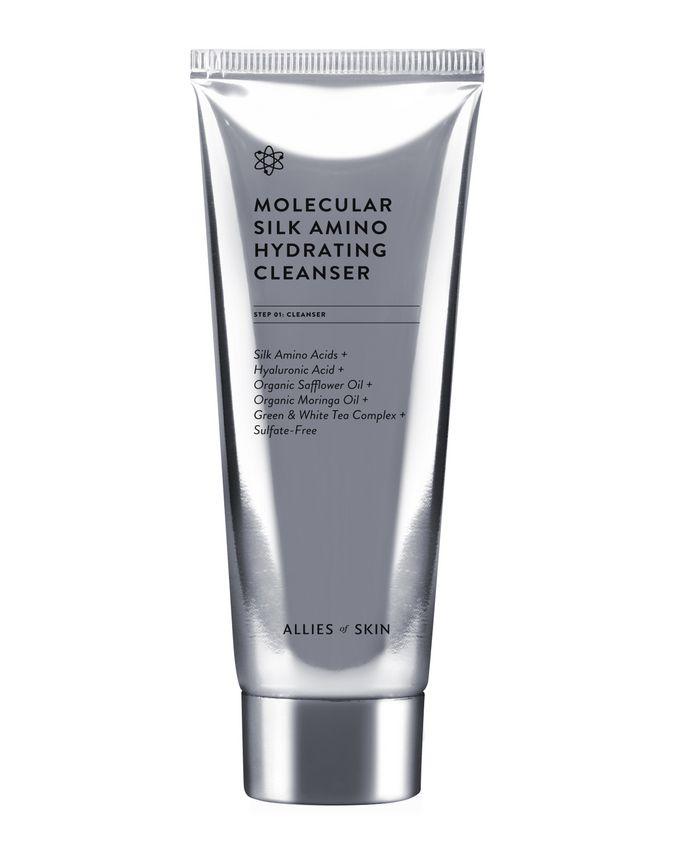 allies of skin molecular silk hydrating cleaser