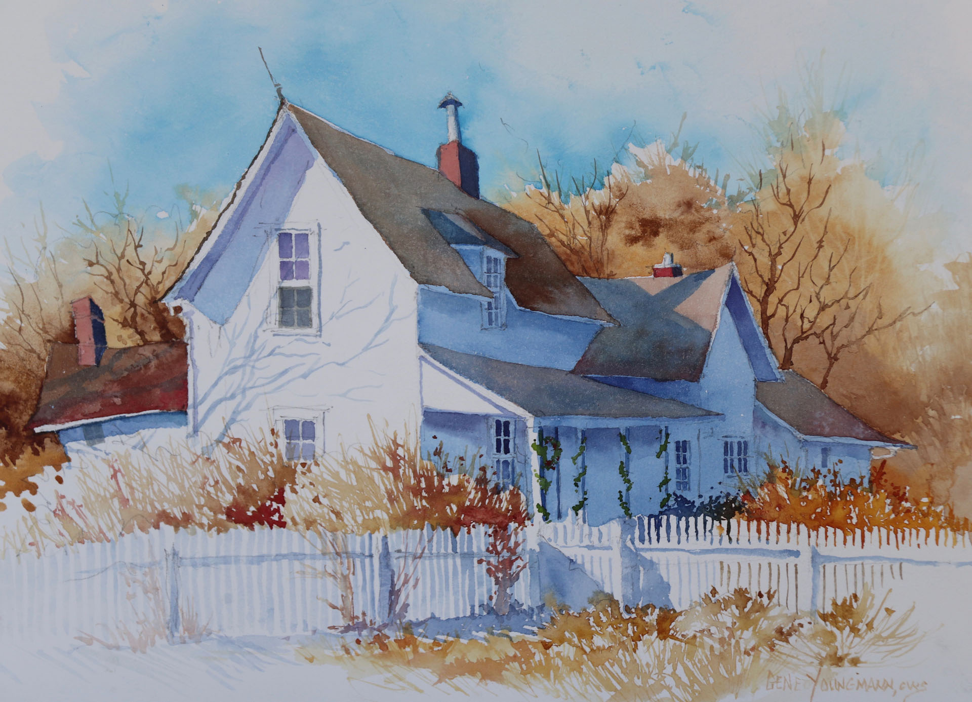 November at Hildebrand Farm