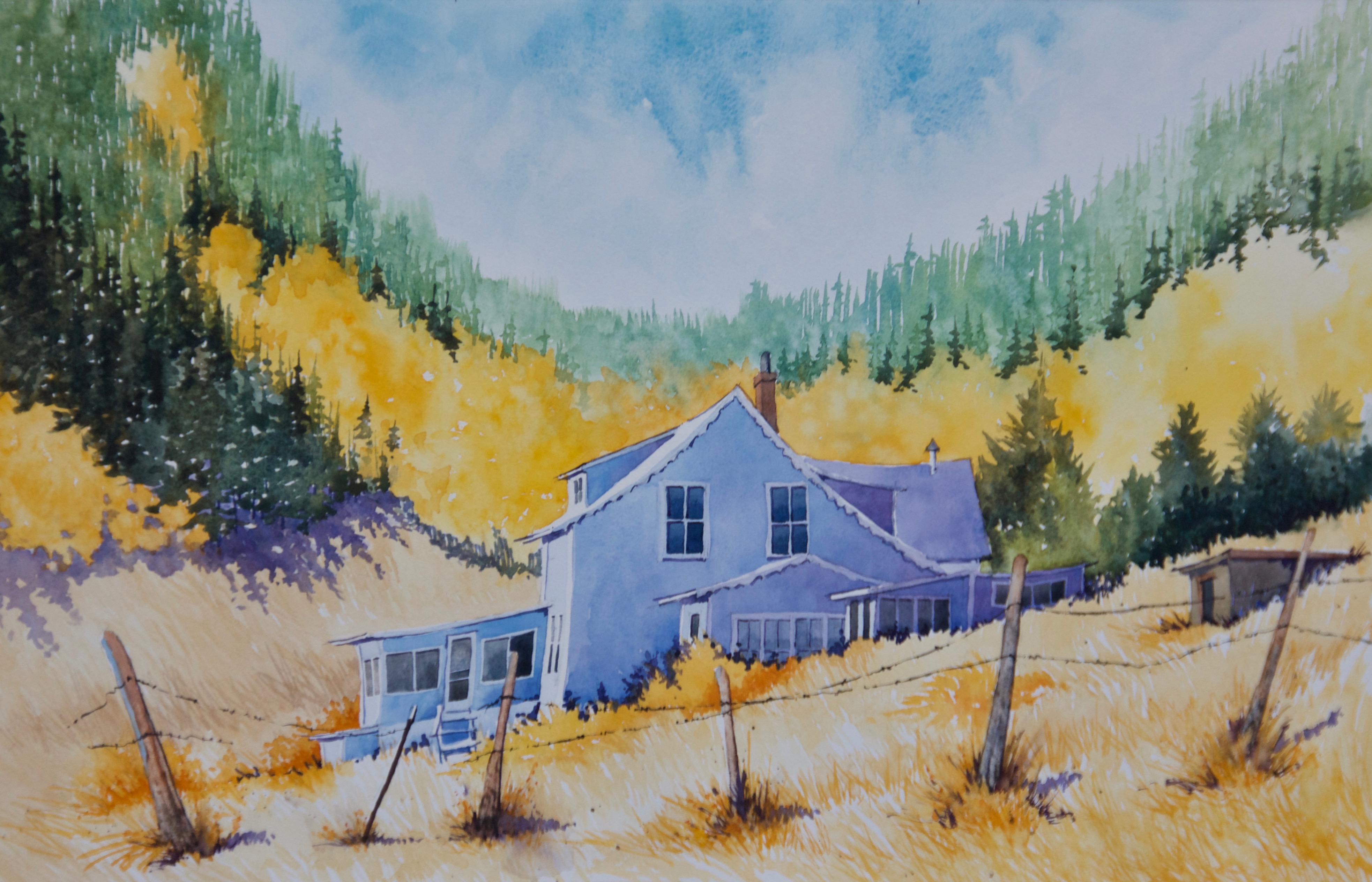 Painting #55 High Country Autumn