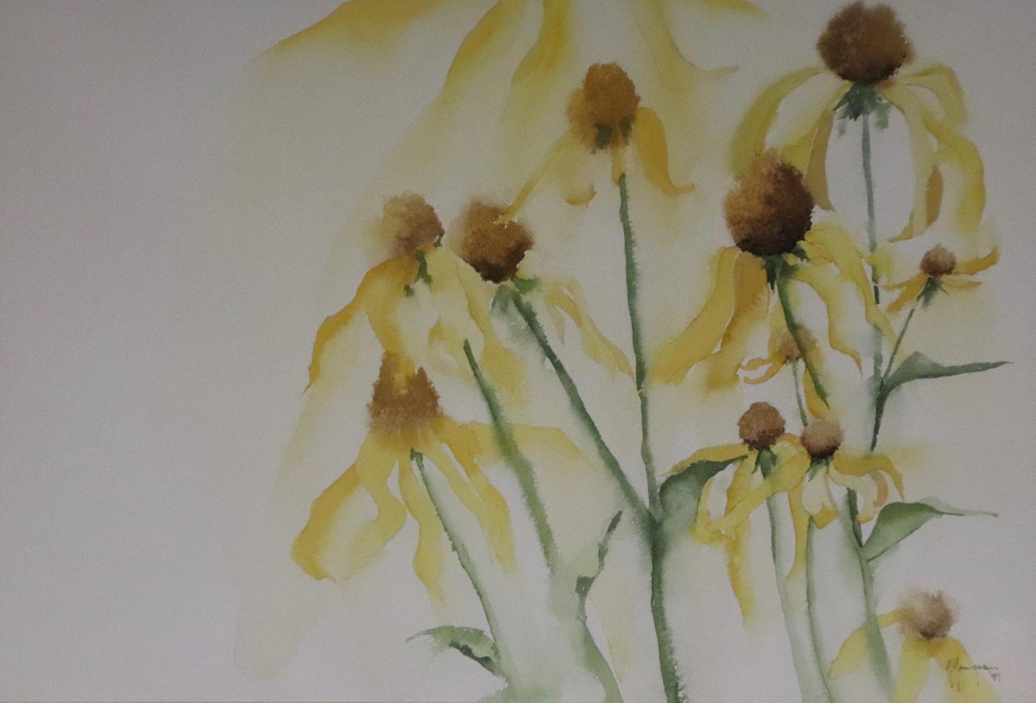 Painting #07 Black Eyed Susan's