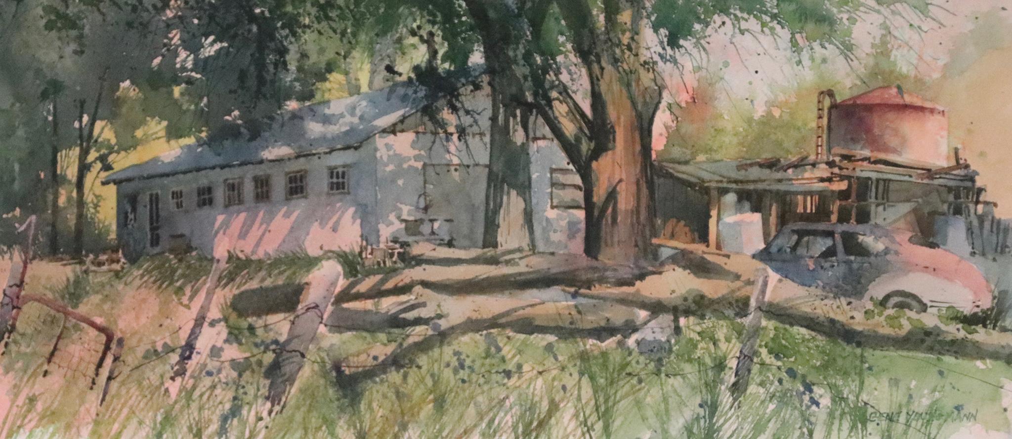 Painting #20 Junk Barn