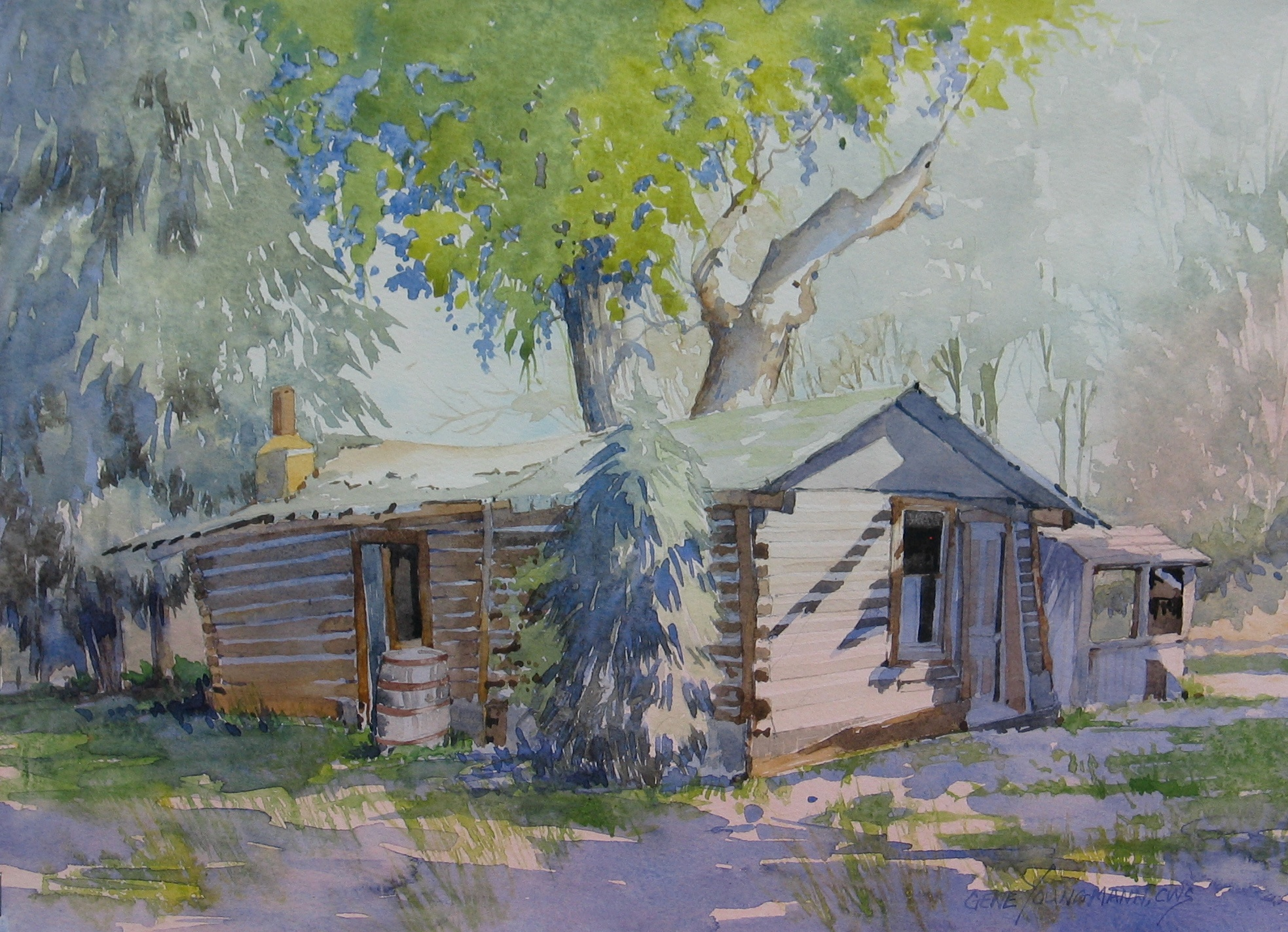 Painting #38 Kinney Homestead
