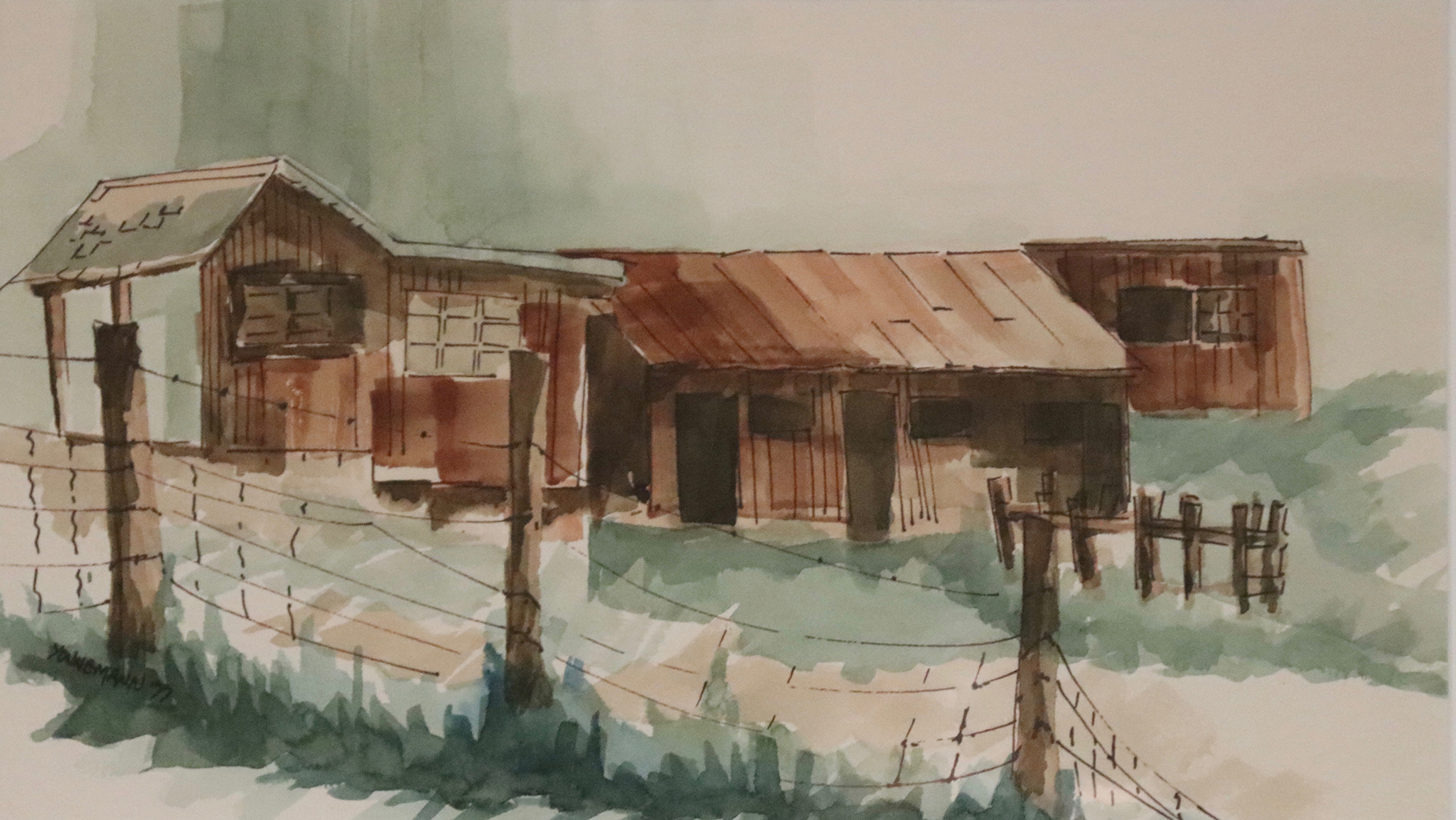 Painting #49 Sheds