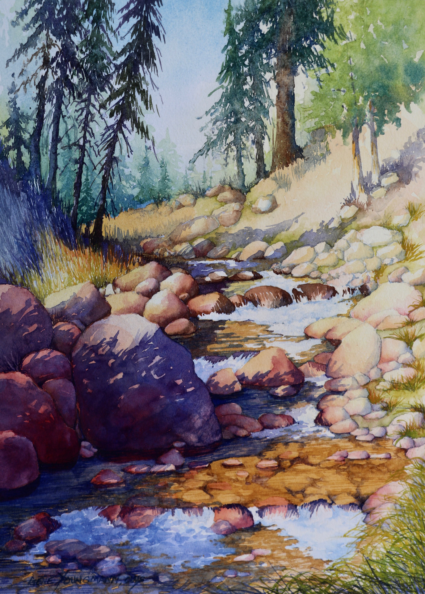 Painting #74 Rocky Creek