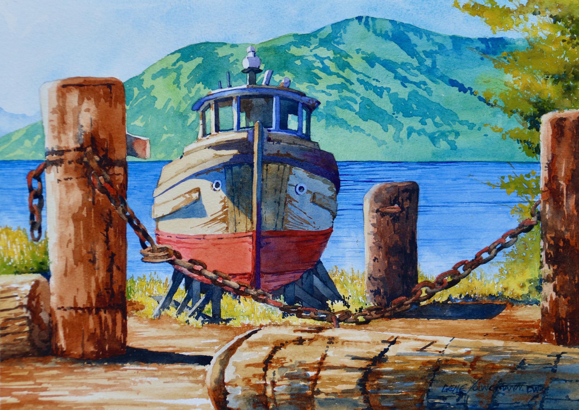 Painting #76 Derelict