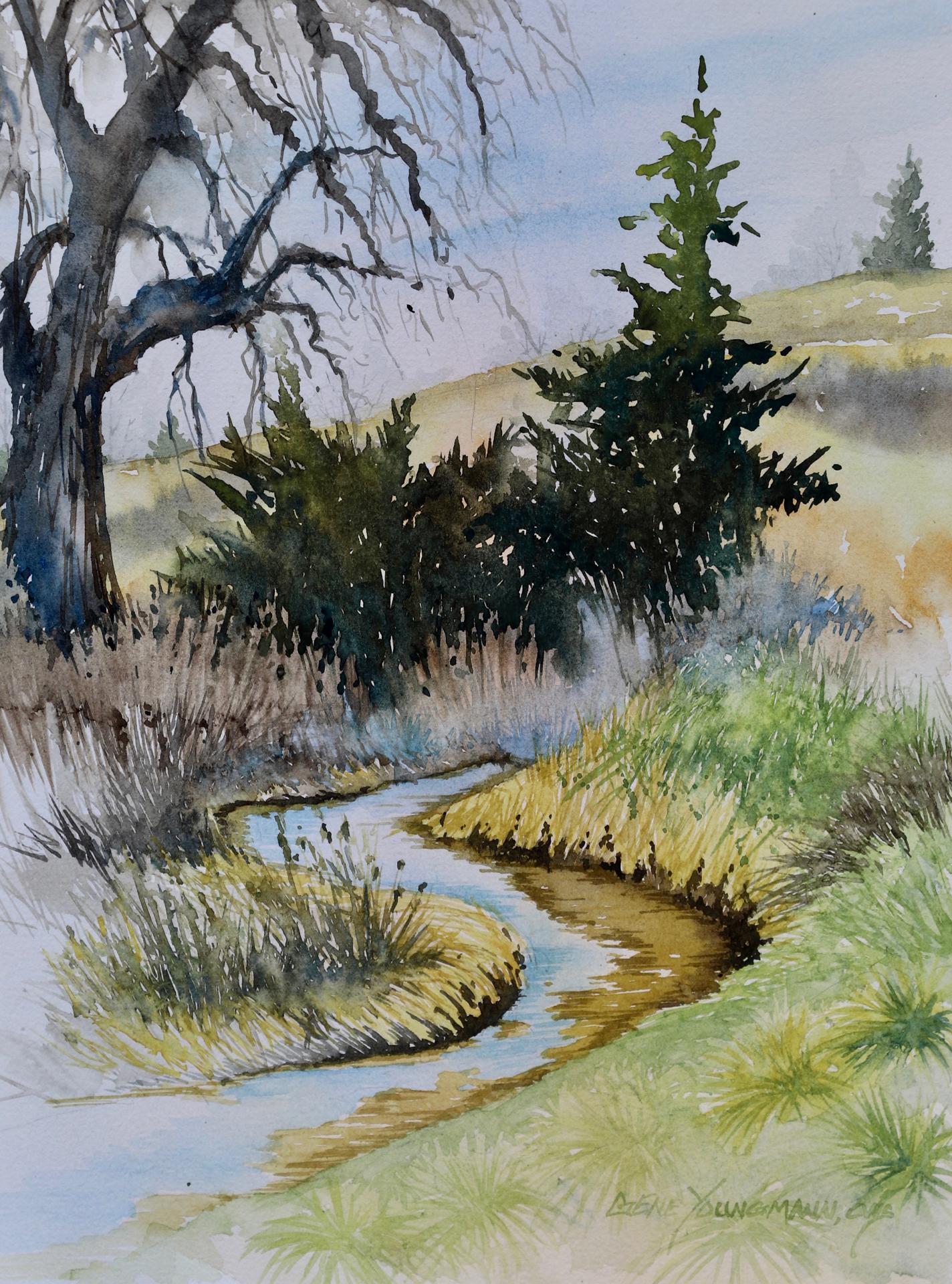 Bend In Walnut Creek