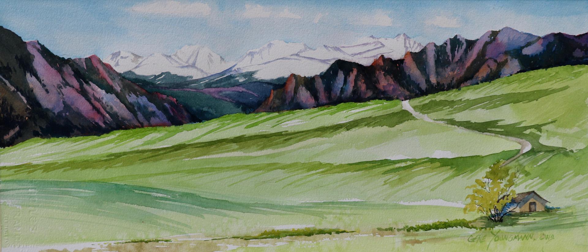 View from Walnut Creek