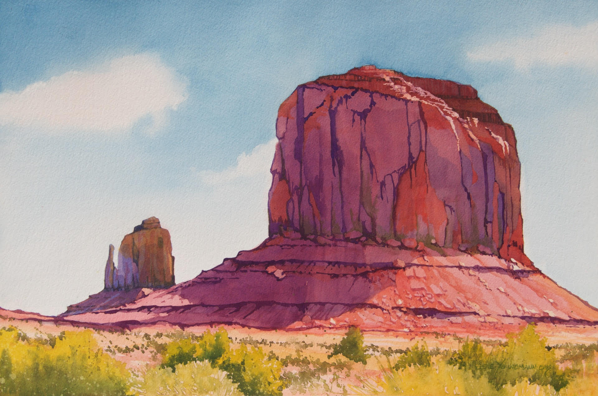 Two Buttes