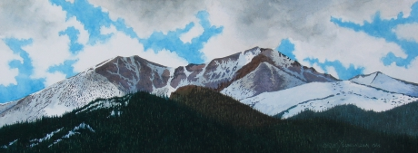 Storm Pass & Longs Peak