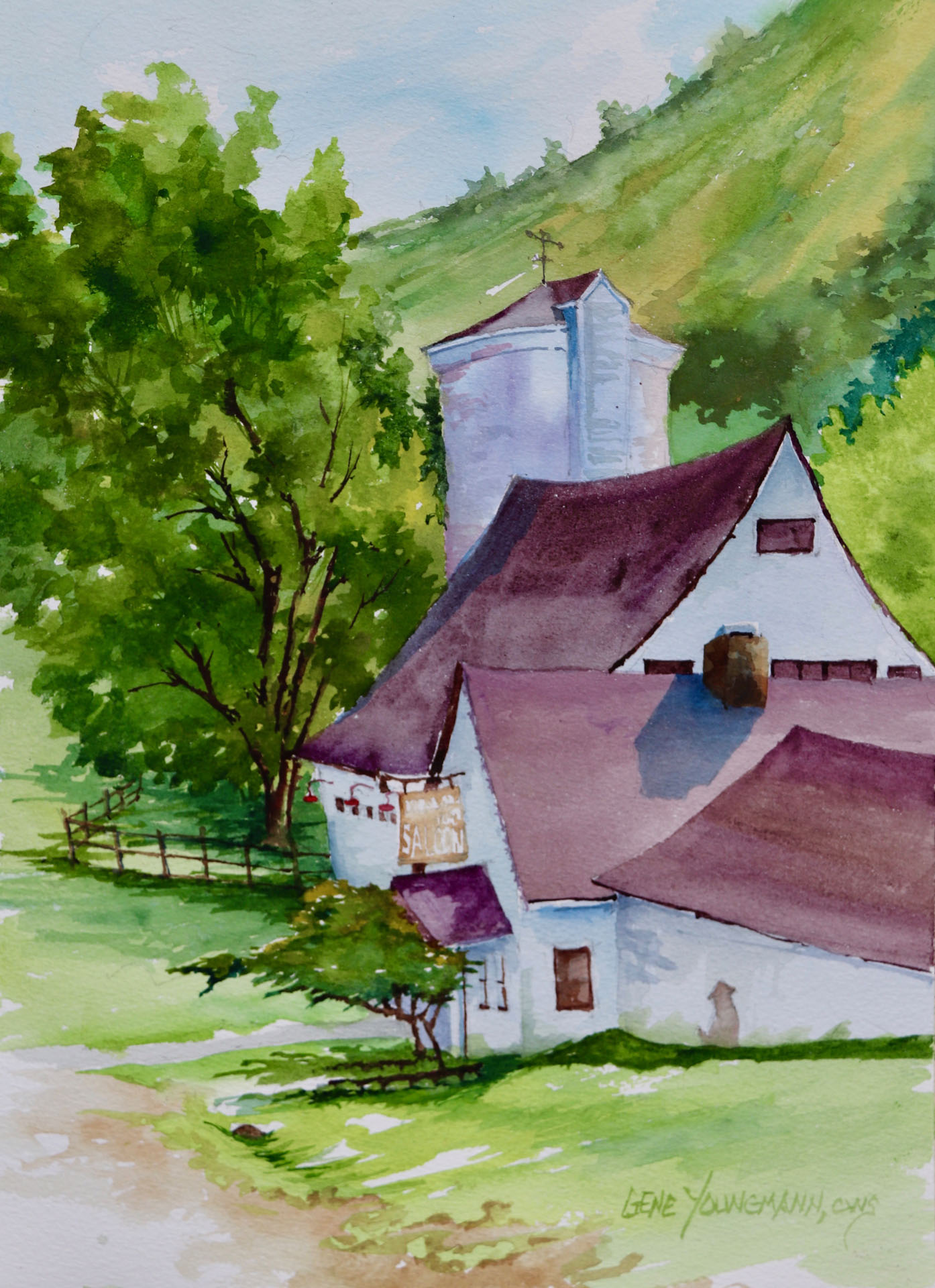 Silo, Barns & Saloon