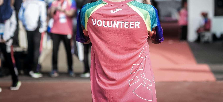 Image of a volunteer.