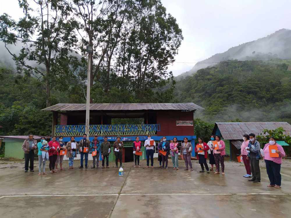 The people of the San Antonio community in the region of Junín in Peru, key actors for the conservation of their territory and biodiversity.