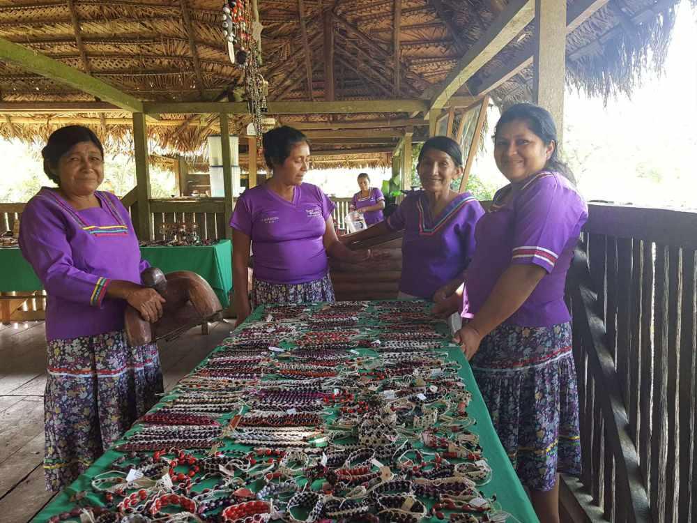 Sani Warmi women making artisan crafts as a sustainable livelihood