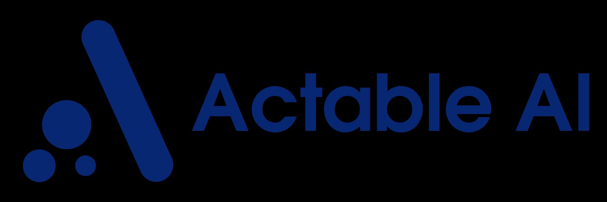 Actable AI