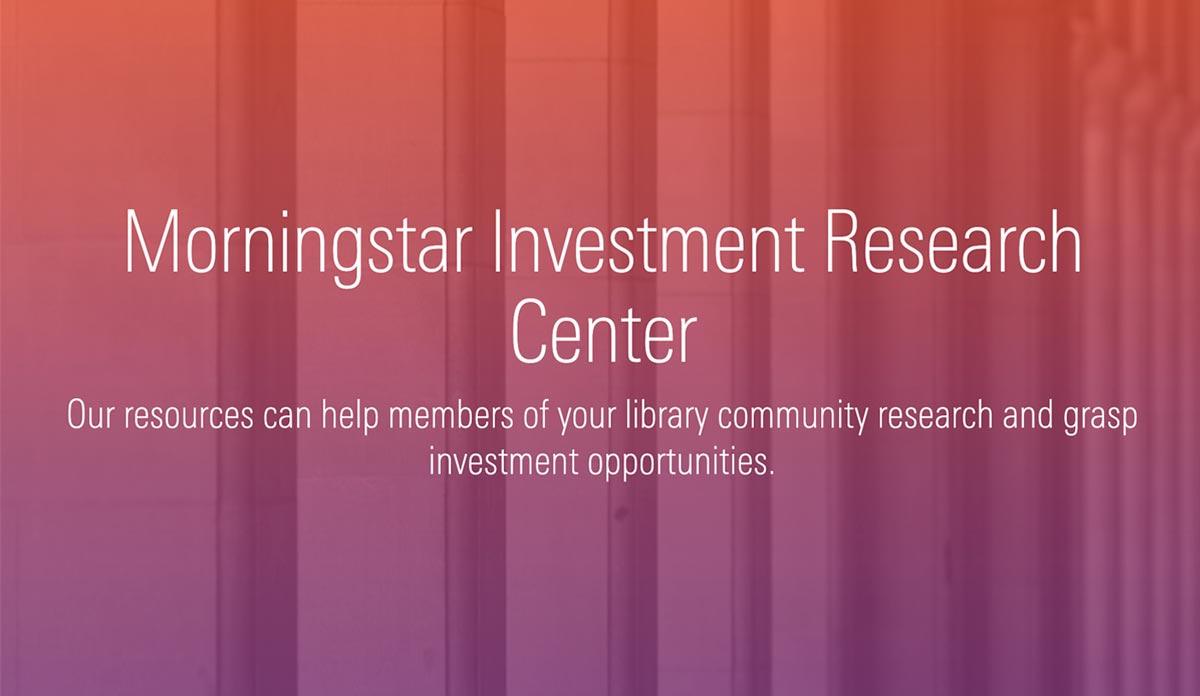 Morningstar Investment Research Center