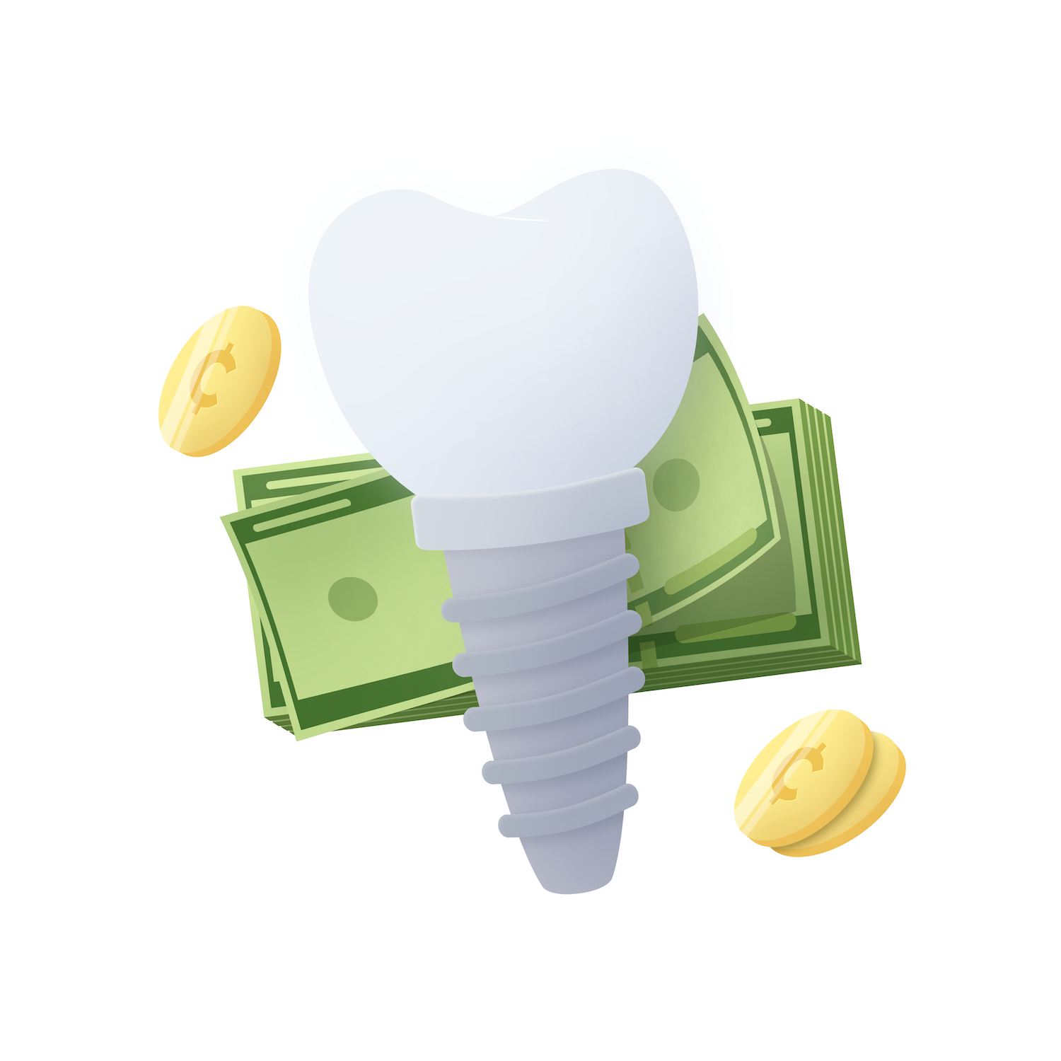 Dental Implants Cost Graphic