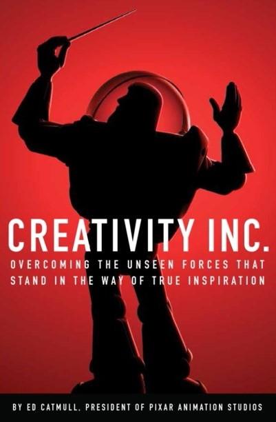 Creativity Inc Book Cover