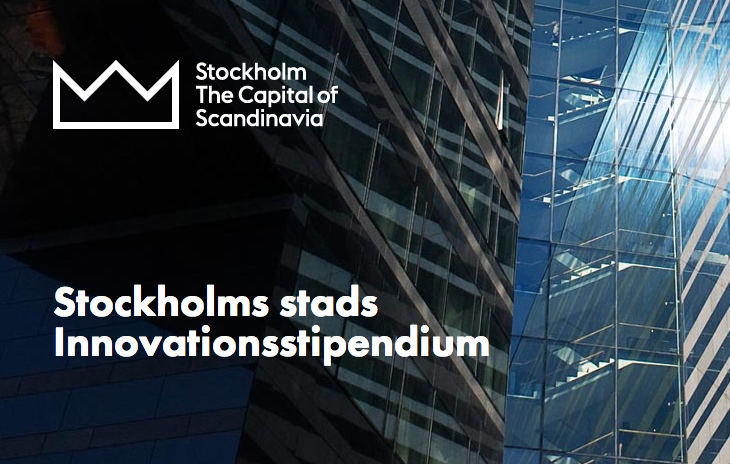Awarded at Stockholm Innovation Scholarship