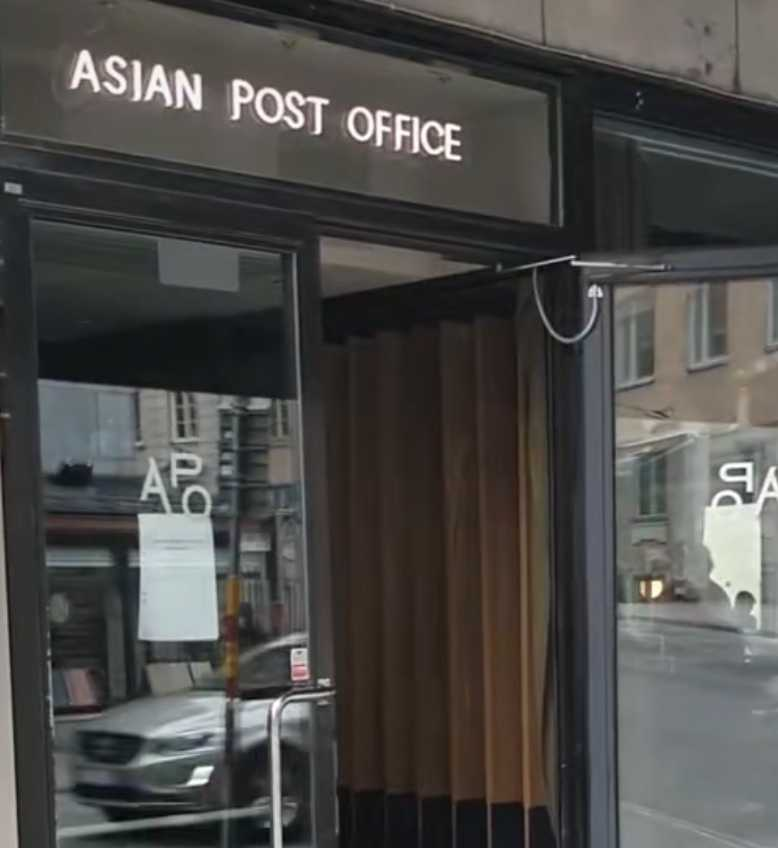 Asian Post Office Stockholm