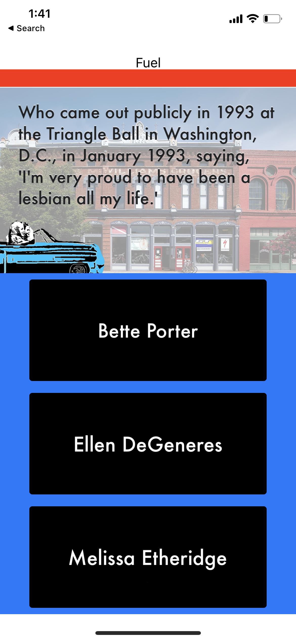 Carol App Level 2 Screenshot