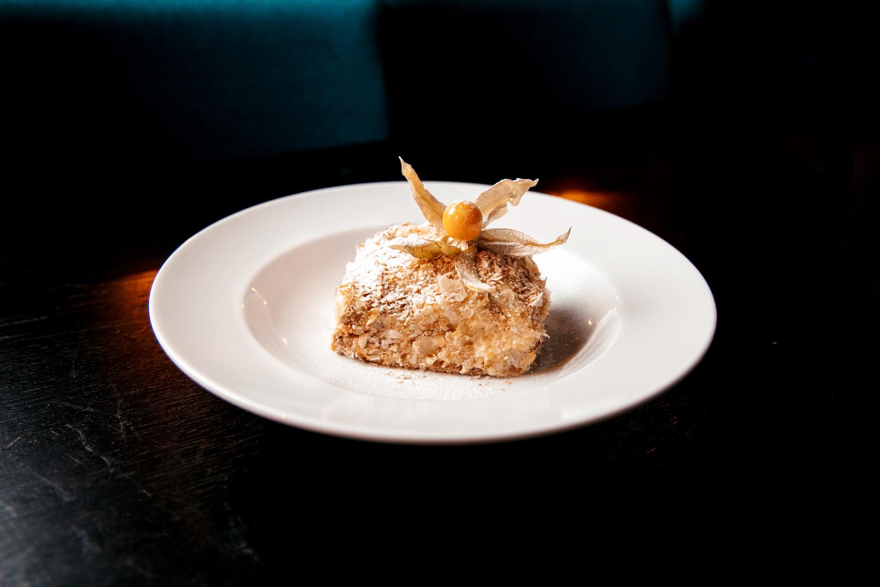Napoleon Cake Georgian Kitchen desserts