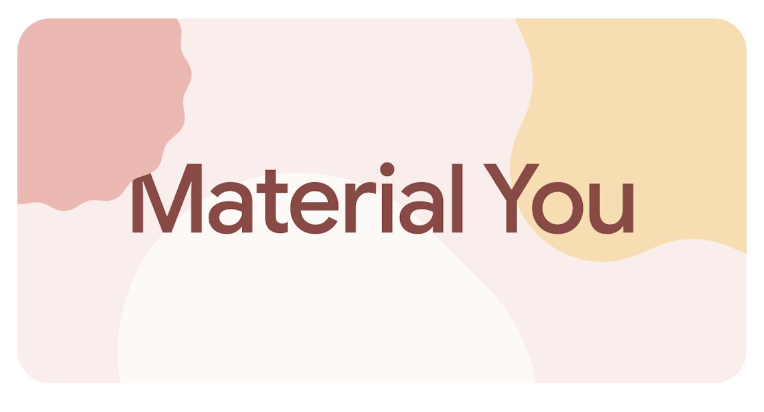 Le futur design system de Google : Material You