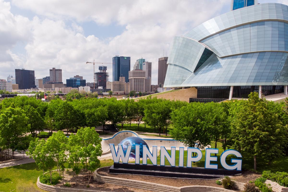 Winnipeg's museum of human rights.