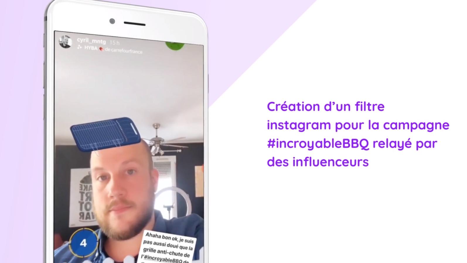 Filtre Instagram - Carrefour France