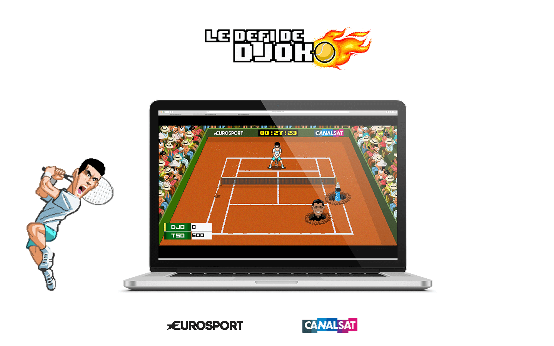 Jeu promotion Roland Garros - CanalSat