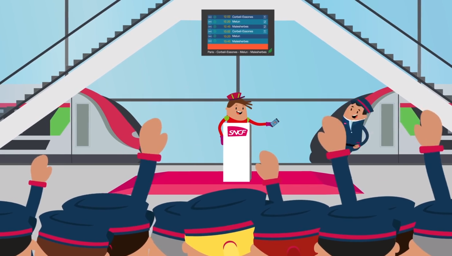 Gamification - Accompagnement changement SNCF