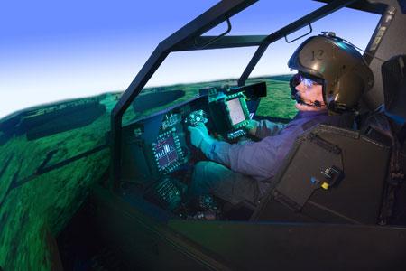 Un simulateur conçu par Boeing.
