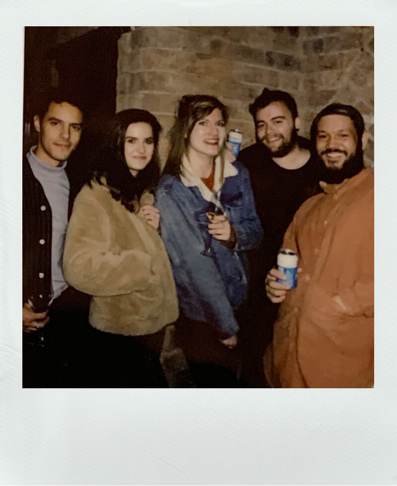 Castleton Mill community polaroid photo