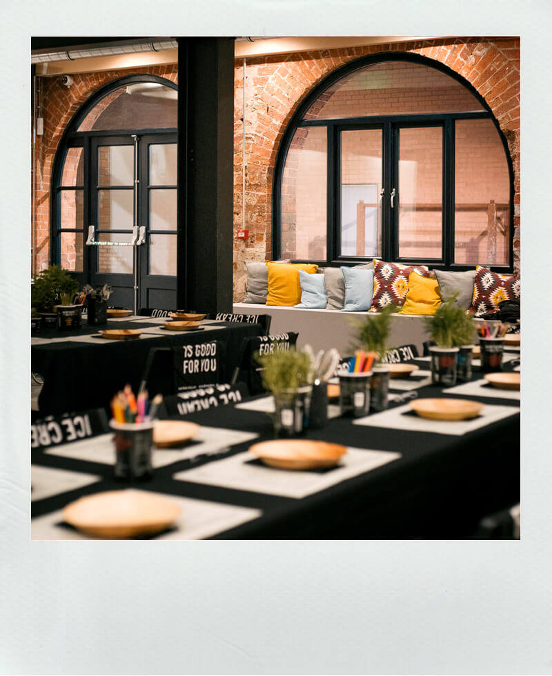 An event held at our events space here at Castleton Mill